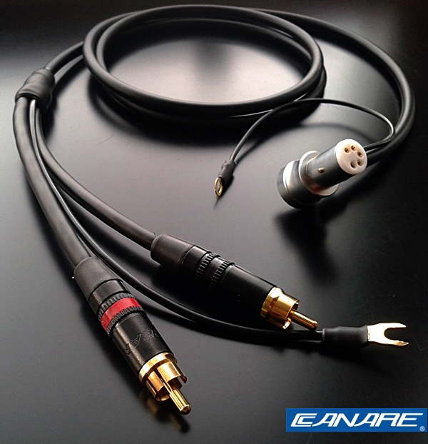 Canare starquad tonearm // phono cable Roksan etc SME for Linn 24AWG